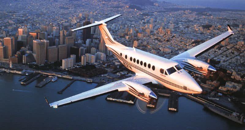 Location jet privé KING AIR 350