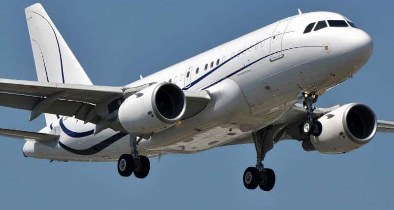 Location d'un jet privé Airbus A318 ELITE