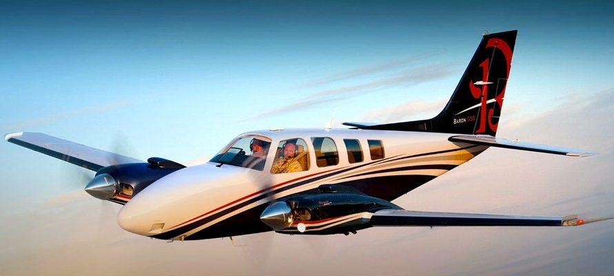 Location jet privé BEECHCRAFT BARON G 58