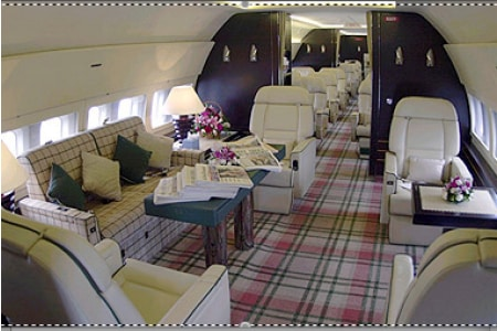 Location jet privé BOEING 737 VIP