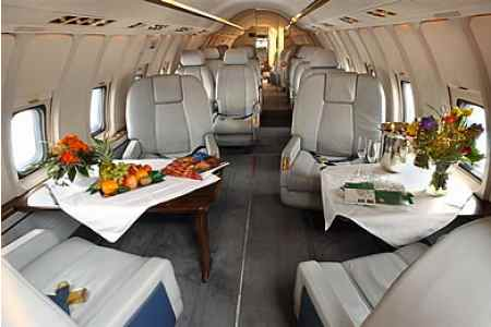 Location jet privé CHALLENGER 600