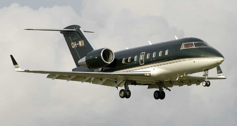 Location de jet privé Challenger 650