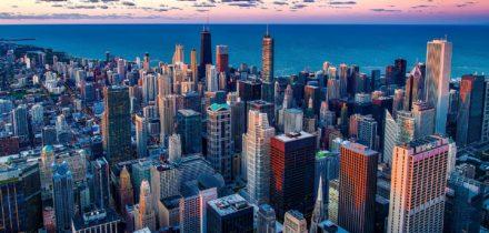 Location jet privé à Chicago