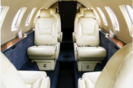 Location jet privé CITATION V ULTRA