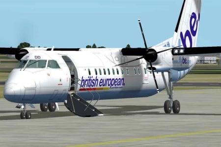 Location jet privé DASH 8-300