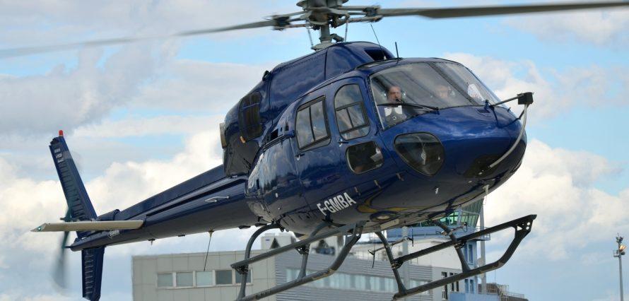 Location hélicoptère ECUREUIL AS350