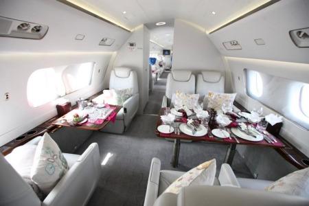 Location jet privé EMBRAER LINEAGE 1000