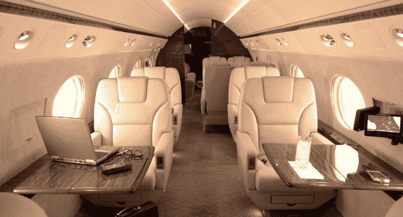 Location jet privé GULFSTREAM G550
