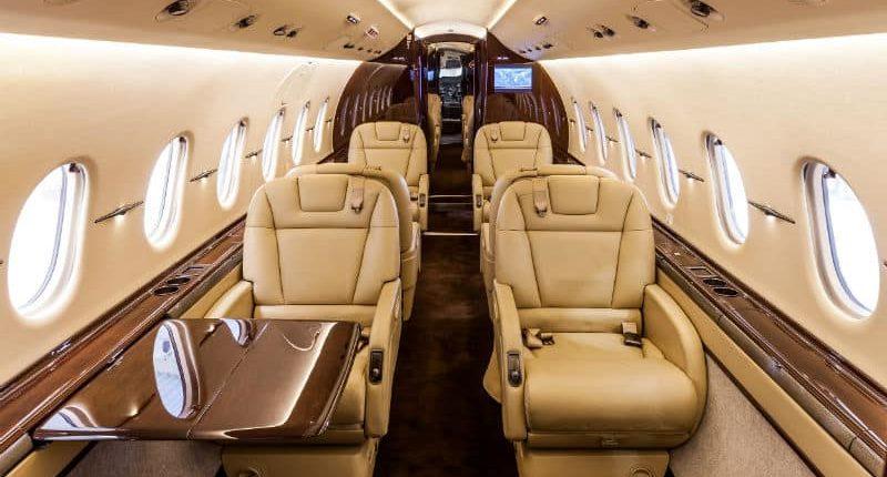 Location jet privé HAWKER 4000