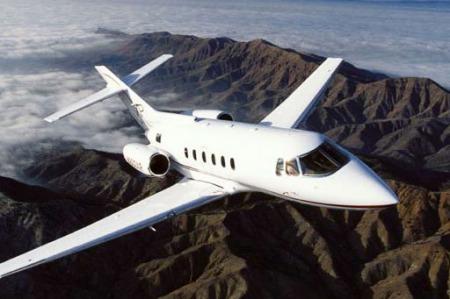 Location d'un jet privé Hawker 800
