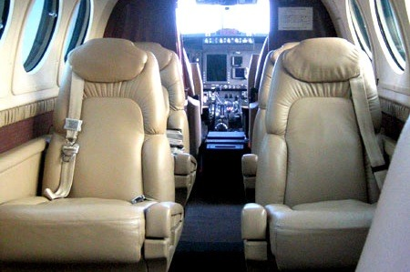 Location jet privé KING AIR 200