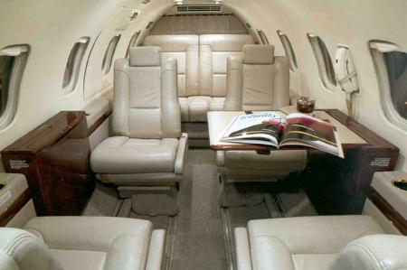 Location jet privé LEARJET 31