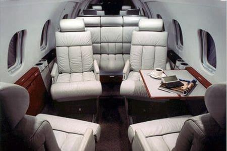 Location jet privé LEARJET 55