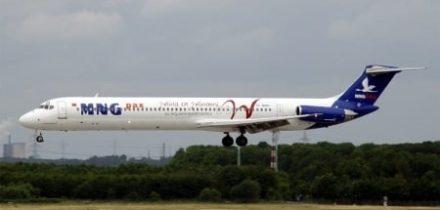 Location jet privé MD 82