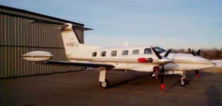 Location jet privé PIPER CHEYENNE II