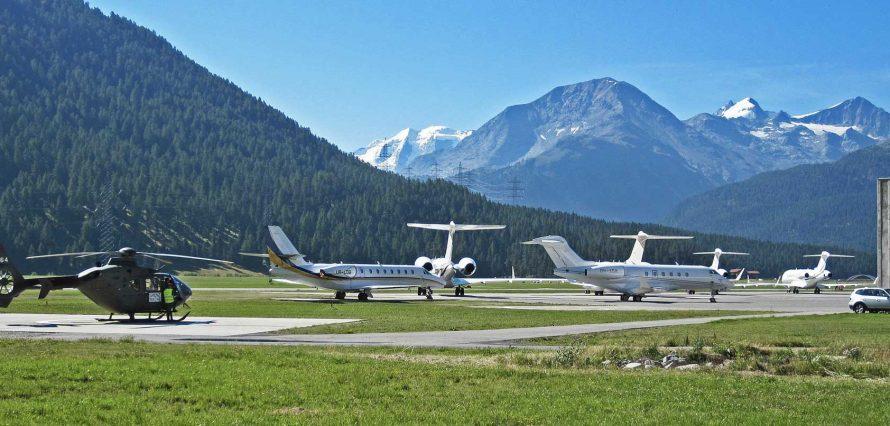 Location jet privé et hélicoptère - Paris - St. Moritz Samedan