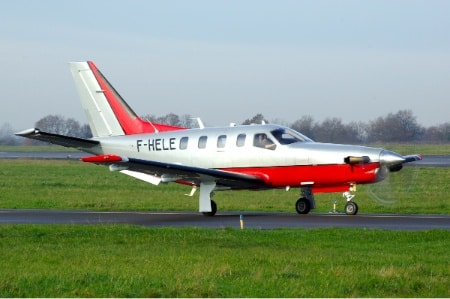 Location d'un jet privé TBM 850