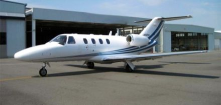 Location d'un jet privé Citation CJ1
