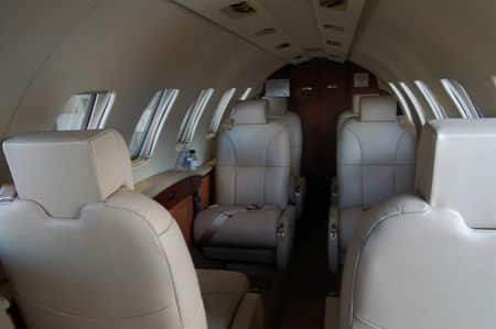 Location jet privé CITATION III