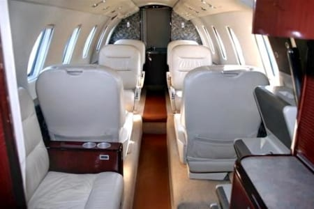 Location jet privé CITATION VI