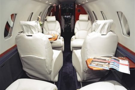 Location jet privé CITATION VII