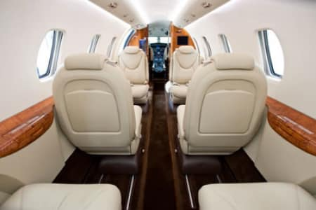 Location d'un jet privé Citation XLS