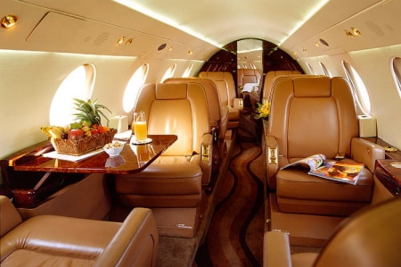 Location jet privé FALCON 20
