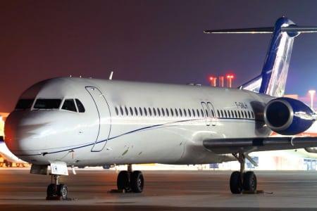 FOKKER 100 Location avion privé