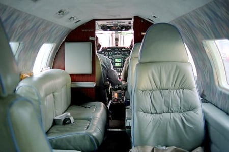 Location jet privé MU 2