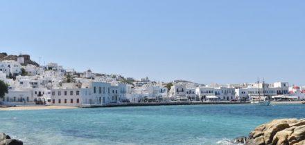 Location de jet privé à Mykonos