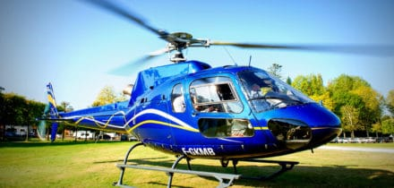 Squirrel AS350 Helicopter