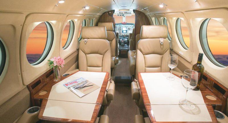 Location jet privé KING AIR 200