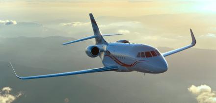 Location jet privé FALCON 2000