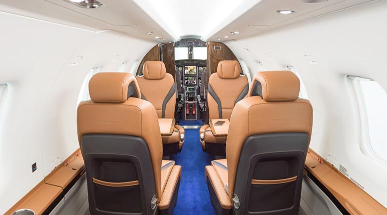 Pilatus PC-12 intérieur