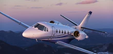 Location d'un jet privé Citation XLS