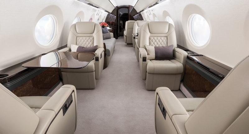 Location jet privé GULFSTREAM GV - G500 - G550