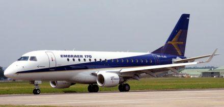 Location jet privé EMBRAER E170