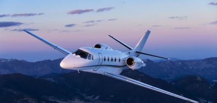 Extérieur jet privé Citation Excel - AEROAFFAIRES