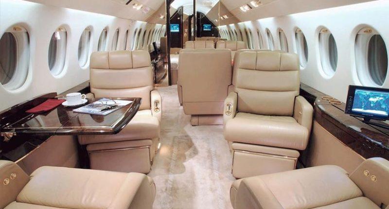 FALCON 900 : location de jet privé