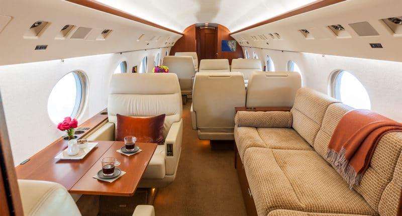 Location d'un jet privé Gulfstream GIV