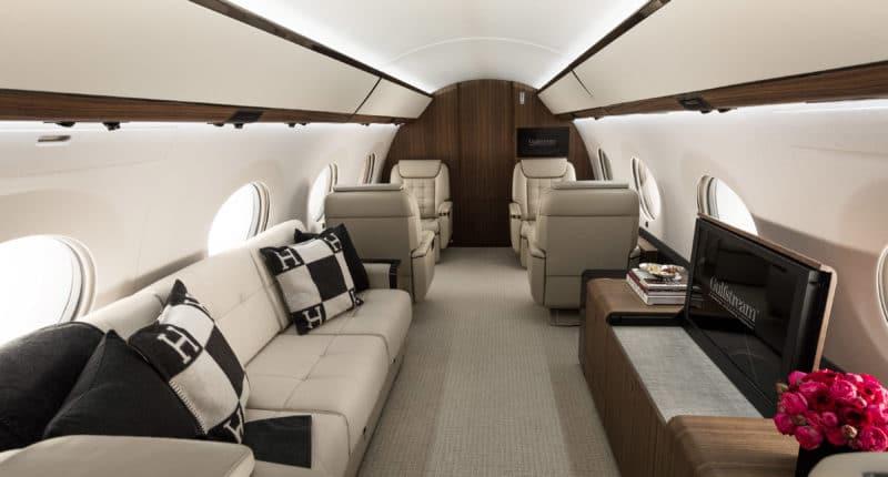 Location Gulfstream G600