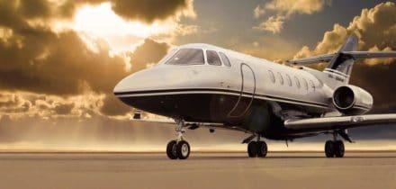 Location jet privé HAWKER 850 XP