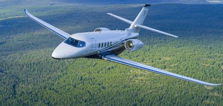 Location d'un jet privé Citation Sovereign