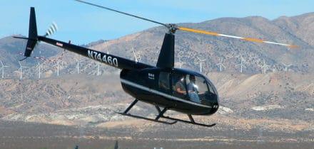 ROBINSON R44 : location d'hélicoptère