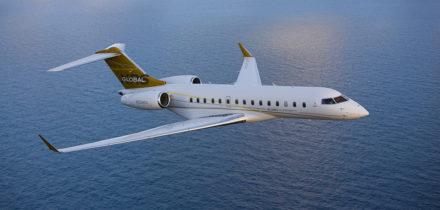Location d'un jet privé Global Express