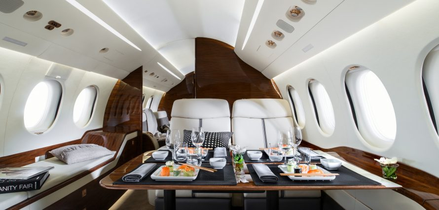 Falcon 7X Location d'un jet privé