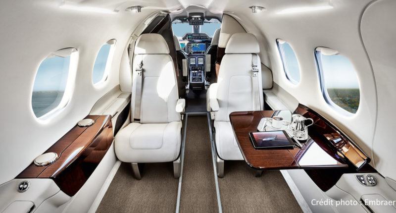 PHENOM 100 : location jet privé