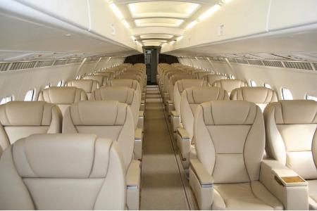Location jet privé RJ 85 (BAE 146) VIP