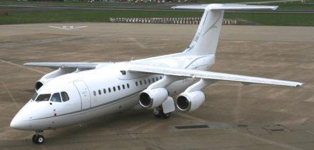 Location jet privé AVRO RJ 85