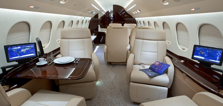 FALCON 8X Location jet privé